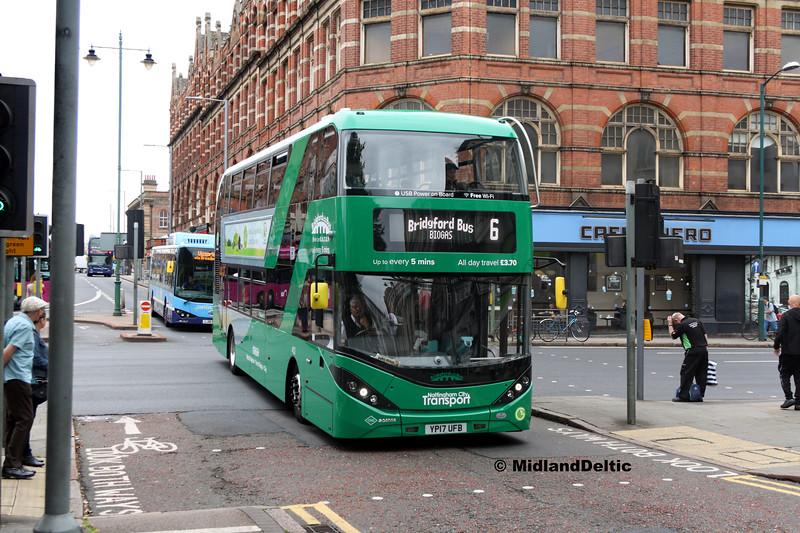 NCT 402, Carrington St Nottingham, 25-07-2017
