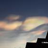 """""""Rainbow"""" Clouds, Portlaoise, 02-02-2016"""
