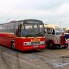 Ards Bus Preservation E645DAU, Dún Laoghaire Harbour, 28-10-2017