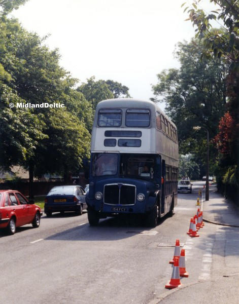 South Wales Transport 538 (154FCY), Wollaton, Nottingham