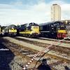 D9016, D5707, D9000, D100, Leicester Depot, 06-09-1992