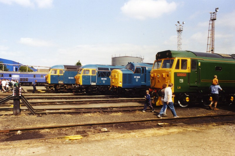 56006, 56004, 37308, 50007, Old Oak Common, 05-08-2000