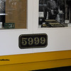GWR 5999 Cast Numberplate