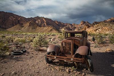 Abandoned Car, El Dorado Canyon, Nevada