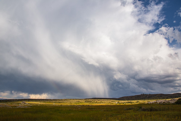 Thunder and Hailstorm, Mono Lake, California