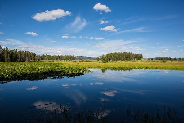 Swan Lake, Grand Teton National Park, Wyoming