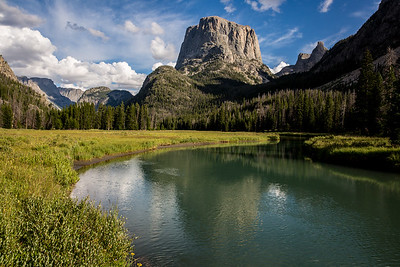 Squaretop Mountain, The Bottle, and Green River Canyon, Wind River Range, Wyoming