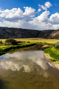 Sweetwater River Near Martin's Cove, Wyoming