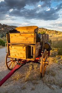 Wagon Replica, Martin's Cove Historic Site, Wyoming