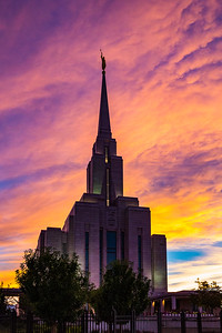 Oquirrh Mountain Mormon Temple, South Jordan, Utah