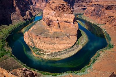 Horseshoe Bend, Colorado River, Arizona