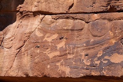 Nine Mile Canyon Petroglyph, Utah