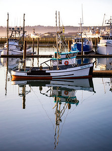 South Sea in the North West - Yaquina Bay, Oregon