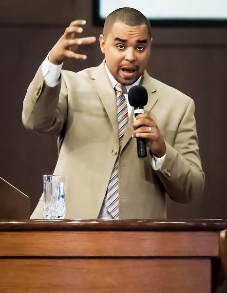 Pastor John Boston