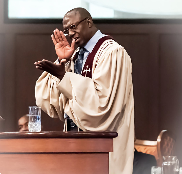 Pastor Calvin B Preston
