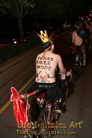 World Naked Bike Ride Chicago