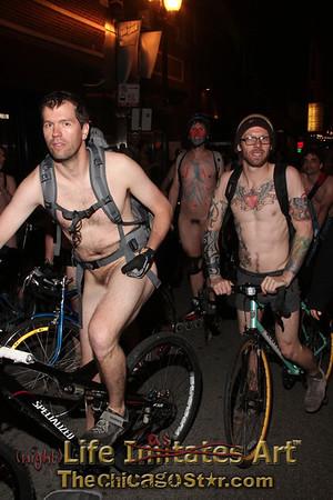 Word Naked Bike Ride Chicago