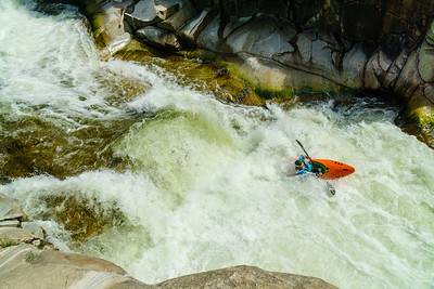 "Darin Mcquoid finishes the ""mandatory gorge"" on the Middle Tule in style."