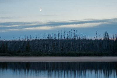 Quebec Moonrise