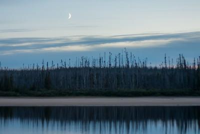 Quebec Moonrise