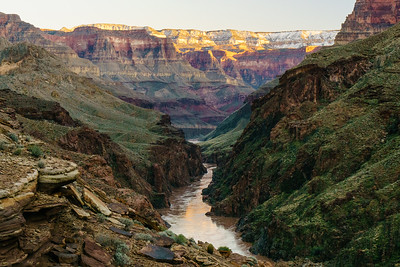 Narrowest Point in the Canyon
