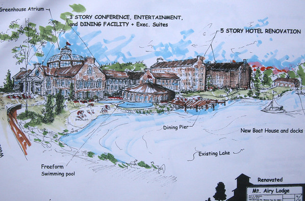 Mount Airy Lodge, Strickland Resort and Mt. Pocono Resort Rehabilitaion and Recrational Study for golf, ski, and housing resort