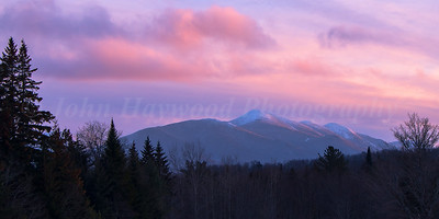 MacIntyre Range Winter Sunset
