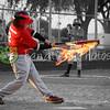 mamjm 73 03|26|09 Flaming bat, black and white background!