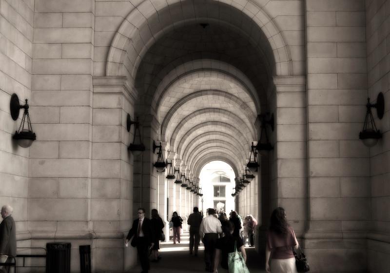 Train station in Washington, DC