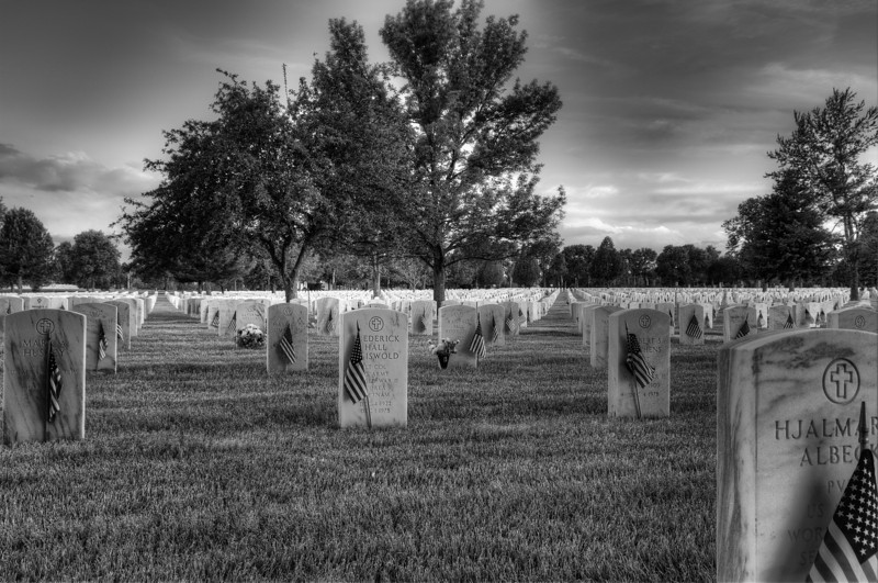 Memorial Day at Fort Logan Cemetery, Colorado.  Thank you to all who have served our country.