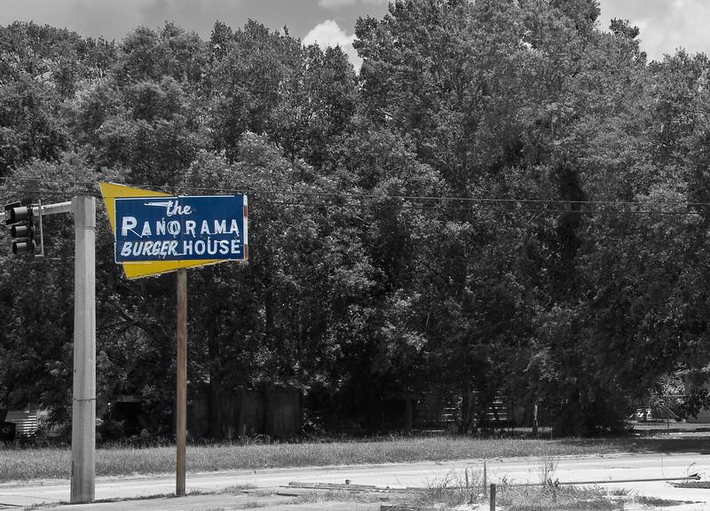 """used to be"" restaurant, Lake Charles, Louisiana"