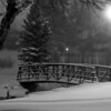 Foot bridge in Sterne Park, Littleton, Colorado