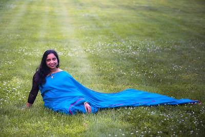 Wife in Sari