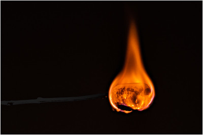 Flaming Marshmellow