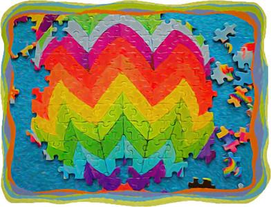 Puzzeled Rainbow
