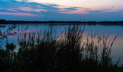 Twilight Over Pike Lake