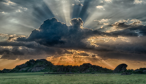 Sunset at Olduvi