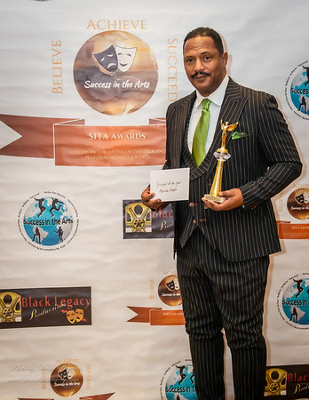 Malcom Staples SITA Awards Ceremony