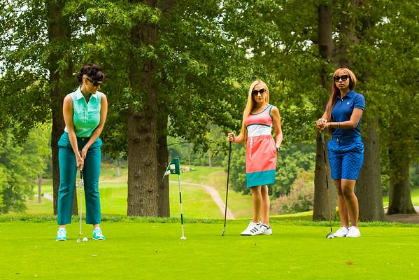 Meghan Campbell Golf Shoot | DMochelle Fashion Magazine