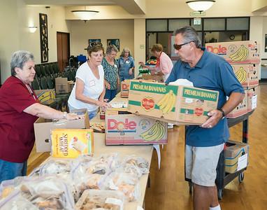 Saddleback Church Food Pantry 7-23-2014