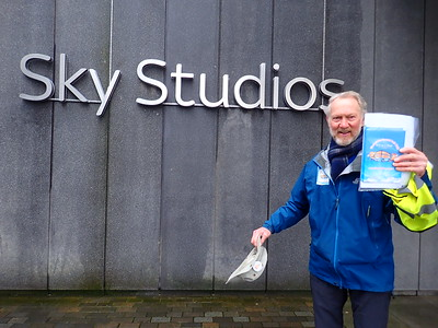 Brian arrives at Sky TV!