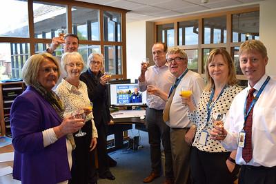 Tea Team Celebrates!