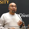 Keynote Speaker Dr. Wilbert Jordan who has served this University for almost 35 years