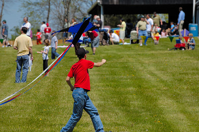 Stock image of International Kite and Culture Festival in Georgetown Kentucky USA