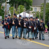 The Second Connecticut Volunteer Heavy Artillery Regiment in this year's Newtown Labor Day Parade. (Crevier photo)