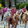 Newtown Bridle Lands Association was well represented in the Labor Day Parade, along with their four-legged friends. (Voket photo)