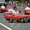 The Pyramid Shriners of Milford at this year's Newtown Labor Day Parade. (Crevier photo)