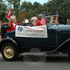 Newtown Visiting Nurse Association, represented by Mae Schmidle and Sally Schweikert, with Daniel Amaral at the wheel, was represented at this year's Newtown Labor Day Parade. The VNA received The Legends & Pioneers Award this year.   (Gorosko photo)