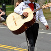 A Fiesta Del Norte mariachi player at this year's Newtown Labor Day Parade (Crevier photo)
