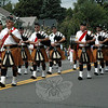 Members of The Celtic Cross Pipes and Drums of Danbury. (Gorosko photo)